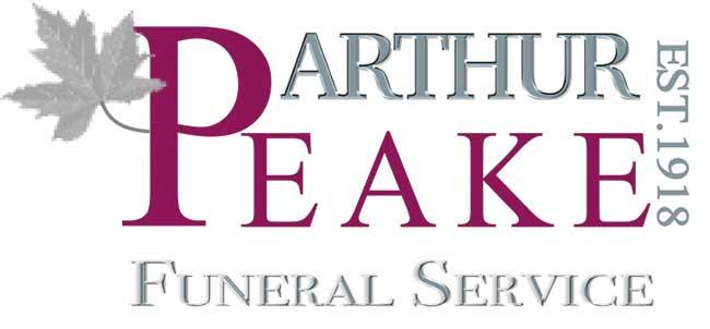 arthur peak and sons funeral service logo