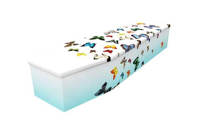 Fluttering Beauty style coffin
